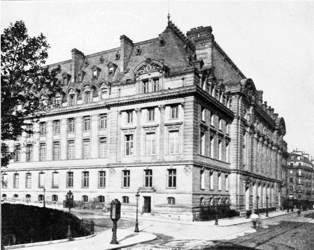 Сорбонский университет начала ХХ века