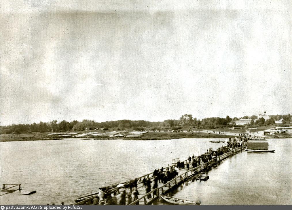Мост через р.Клязьма в Гороховце. 1910-1920 гг.